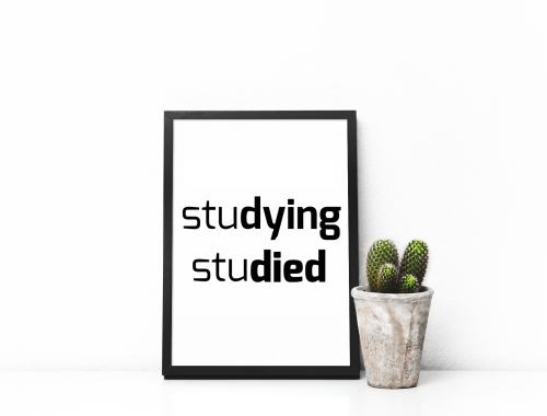 Typografie studeren